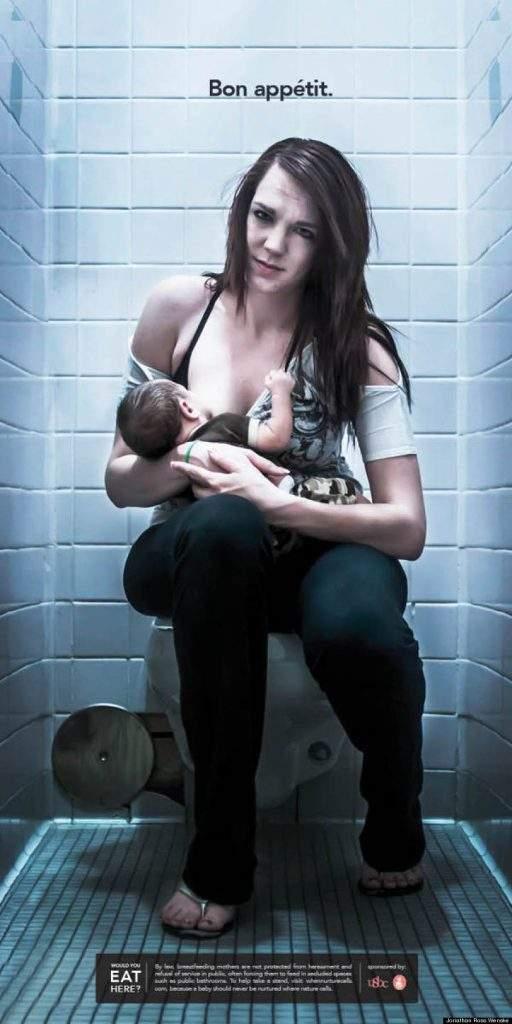 A todos los que acosan o rechazan a las mujeres que amamantan a sus bebés en público, vean esto 16