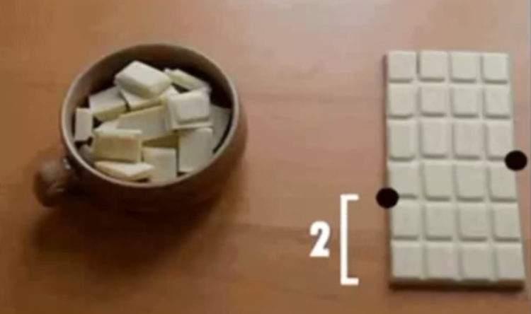 Ninguna curiosidad matemática te será más útil. ¡Chocolate infinito! 12