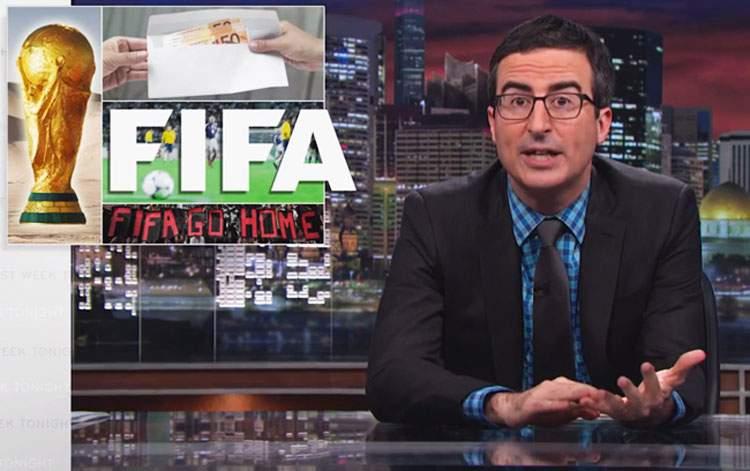 Cómo acabar con la imagen de la FIFA en 13 minutos, por John Oliver 2