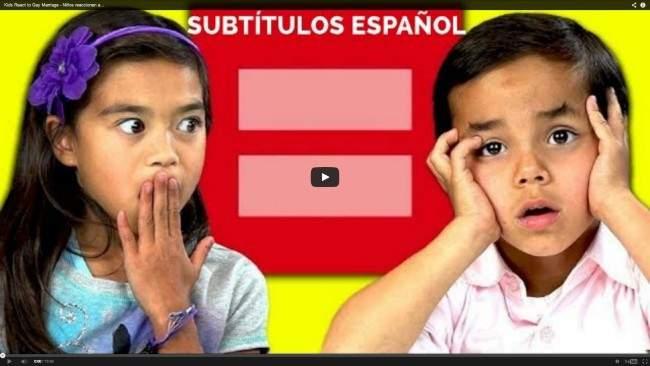 ¿Están los niños preparados para entender el matrimonio igualitario? ¡Han hecho la prueba! 8