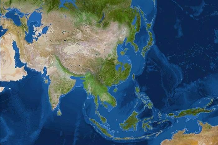 Deshielo de Asia y Pacífico