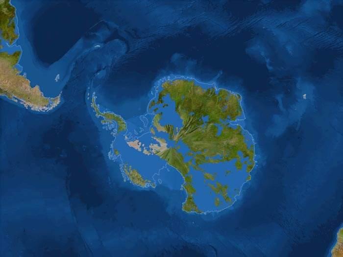 Deshielo de Antártida