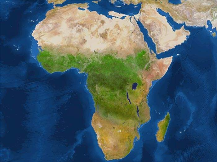 Deshielo de África