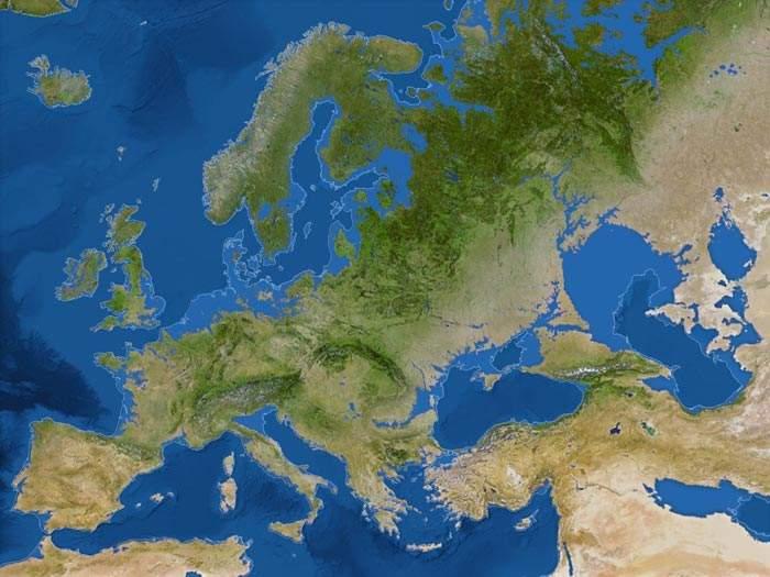Deshielo de Europa