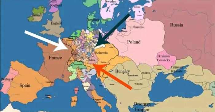 Déjate sorprender por el gran cambio que han dado las fronteras europeas en los últimos 1000 años ¡en sólo 3 minutos! 16