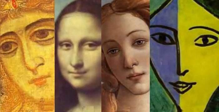 Mira 500 años de evolución del retrato femenino en la pintura en 3 minutos 14