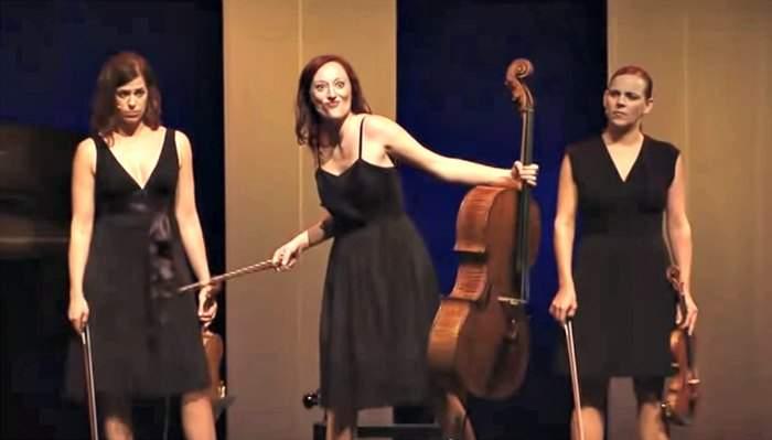 ¿Músicos compitiendo en lugar de cooperando? Ellas consiguen que sea muy divertido 10