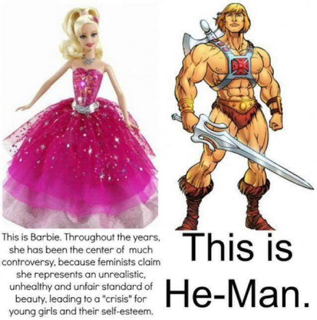 muñecos machistas