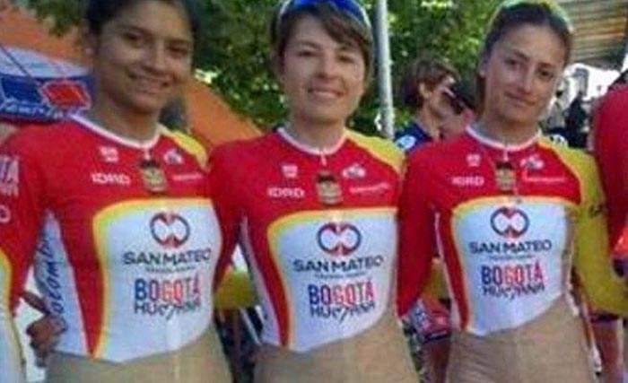 El traje del equipo femenino de ciclismo de Bogotá ha causado una gran polémica. ¿Sabes por qué? 12