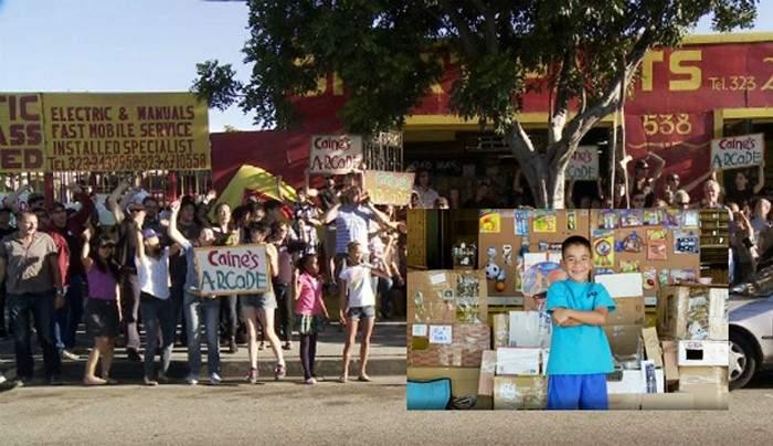 Este niño recaudó más de 85.000€ transformando restos de cartón en un divertido juego 1