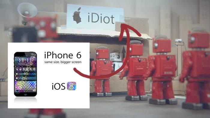 iDiots 6: una forma crítica y divertida de ver la expectación creada por el nuevo iPhone 6 18