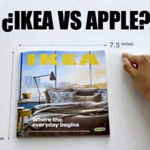 Ikea parodia a Apple con su catálogo pero a sus clientes no les gustará saber qué secreto esconden 14