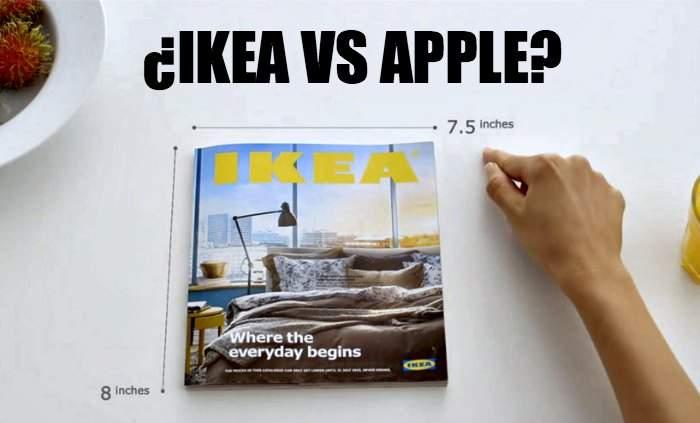 Ikea parodia a Apple con su catálogo pero a sus clientes no les gustará saber qué secreto esconden 9