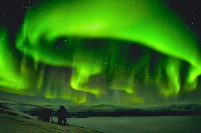 Impresionantes imágenes de la aurora boreal que un astrofotógrafo nos muestra en tiempo real 4