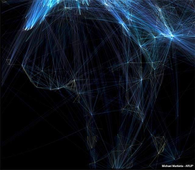 Jamás adivinarías qué son todos esos puntos amarillos sobre el mapa terrestre 3