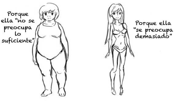 deformidad mujer comic