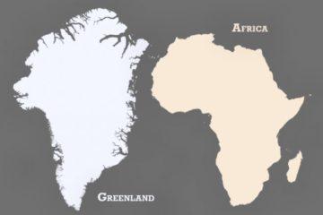 Que no te engañen, este no es el tamaño real de África. Pero este otro sí y te dejará atónito 18