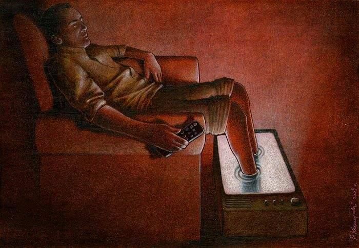 Este artista desvela con su arte las peores críticas de la condición humana 1