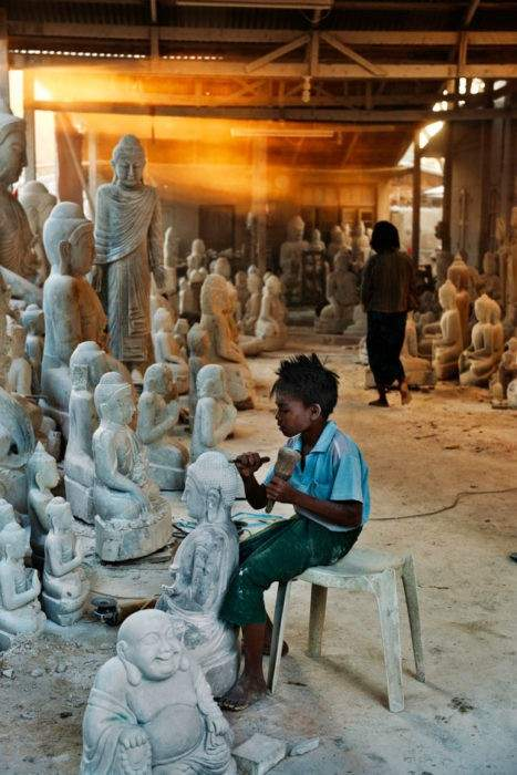 Myanmar Autor: Steve McCurry