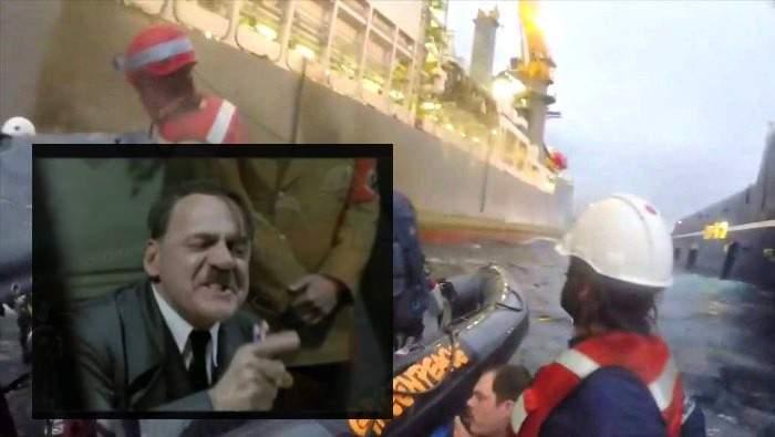 El ataque más duro a una protesta de Greenpeace ofendería al mismo Hitler. Divertida explicación 2