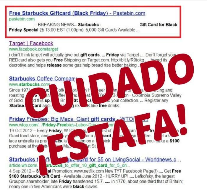 Te explicamos las principales estafas en tiempos de Rebajas Black Friday. ¡Cuidado! 2