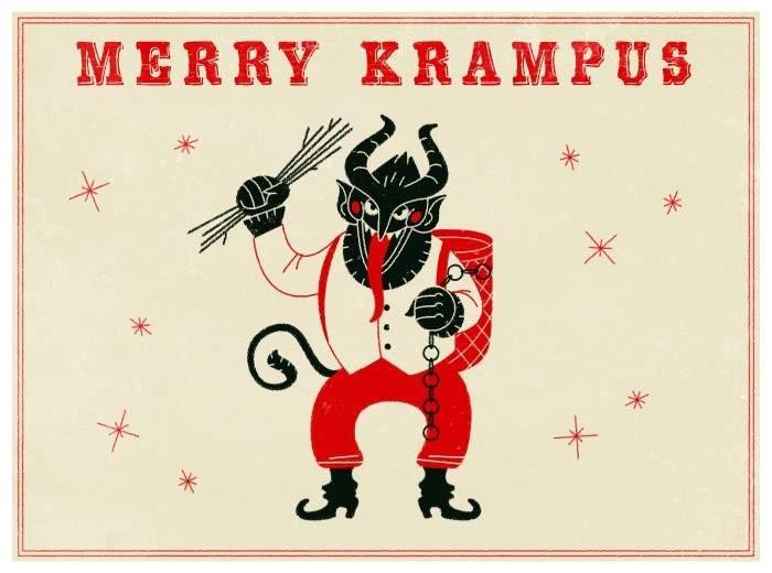 """Descubre a """"Gruss vom Krampus"""": el anti-Papá Noel 14"""