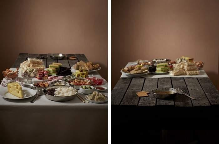 ¿En qué lado de la mesa estás? Espectacular propuesta creativa sobre la alimentación en el mundo 2
