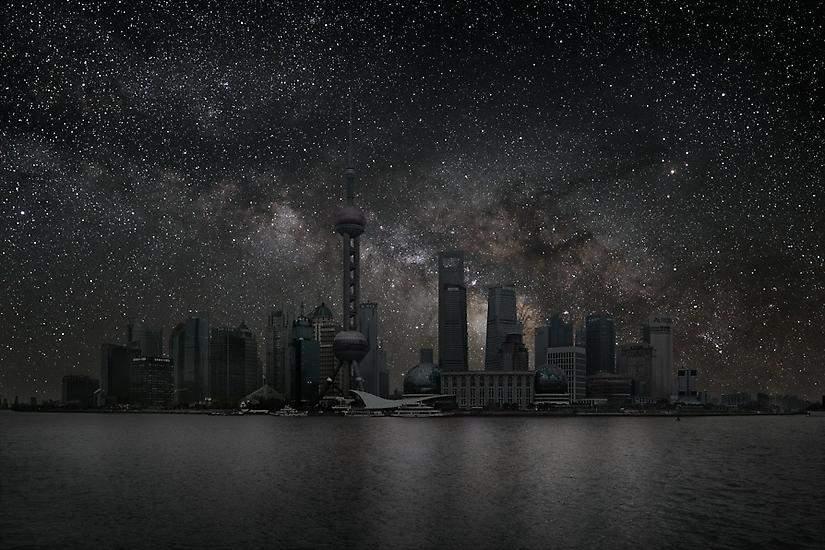 Shanghai, China. Autor: Thierry Cohen