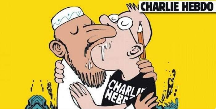 Las controvertidas portadas del 'Charlie Hebdo' contra el fanatismo islamista 18