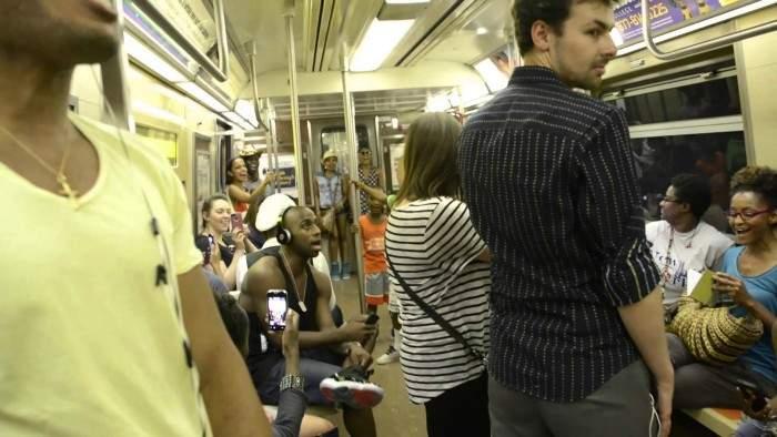 Nunca imaginarías lo que ocurrió en este metro de Nueva York 5