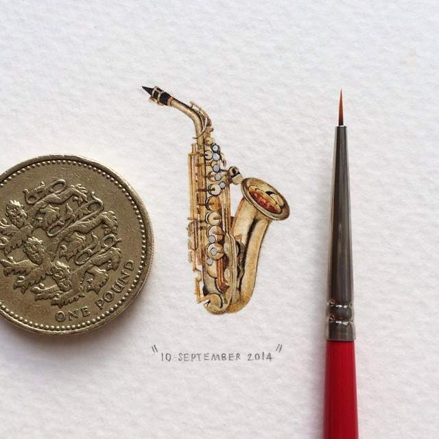 miniature-paintings-postcards-for-ants-lorraine-loots-3