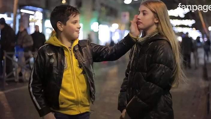 ¿Cómo reacciona un niño cuando le piden que de una bofetada a una niña? 6