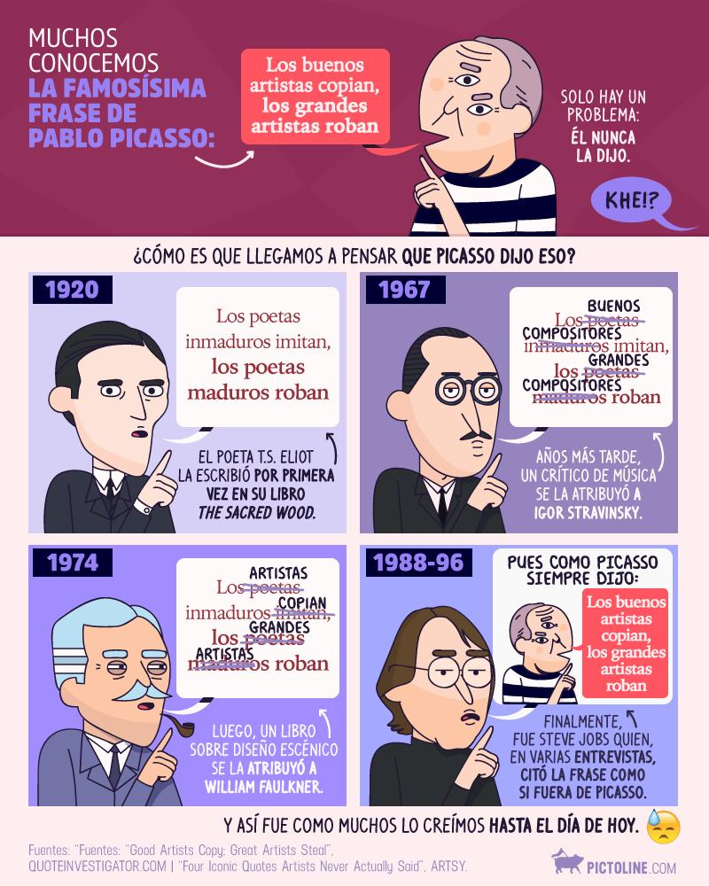 18 frases de Picasso sobre la libertad, la niñez, la juventud, el trabajo y la vida 6