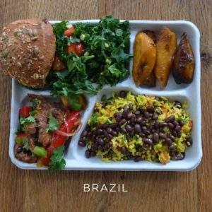¿Cómo son los almuerzos del colegio en diferentes países del mundo? 13