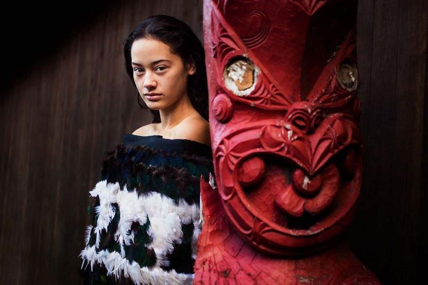 Maori Marae, Nueva Zelanda
