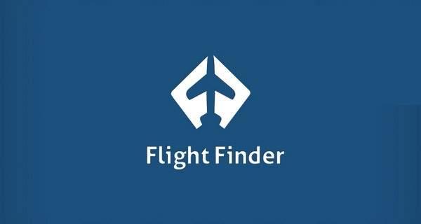 """Dos """"f""""s que forman un avión."""