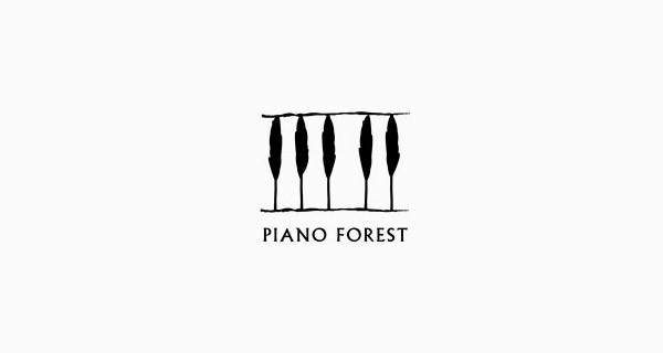Un bosque de piano.