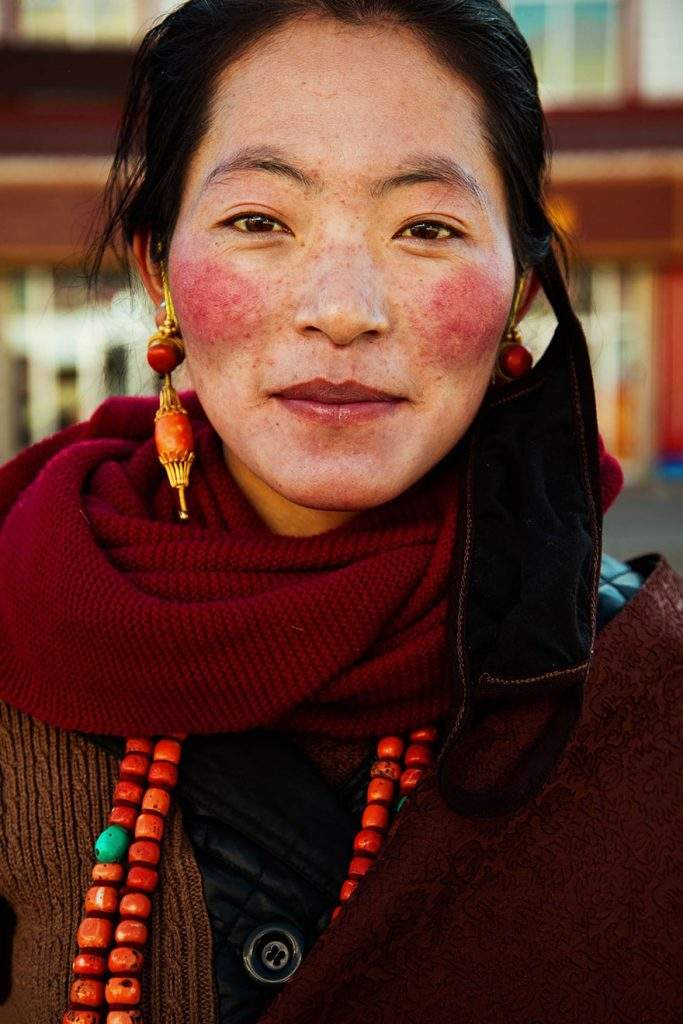 Meseta del Tíbet, China