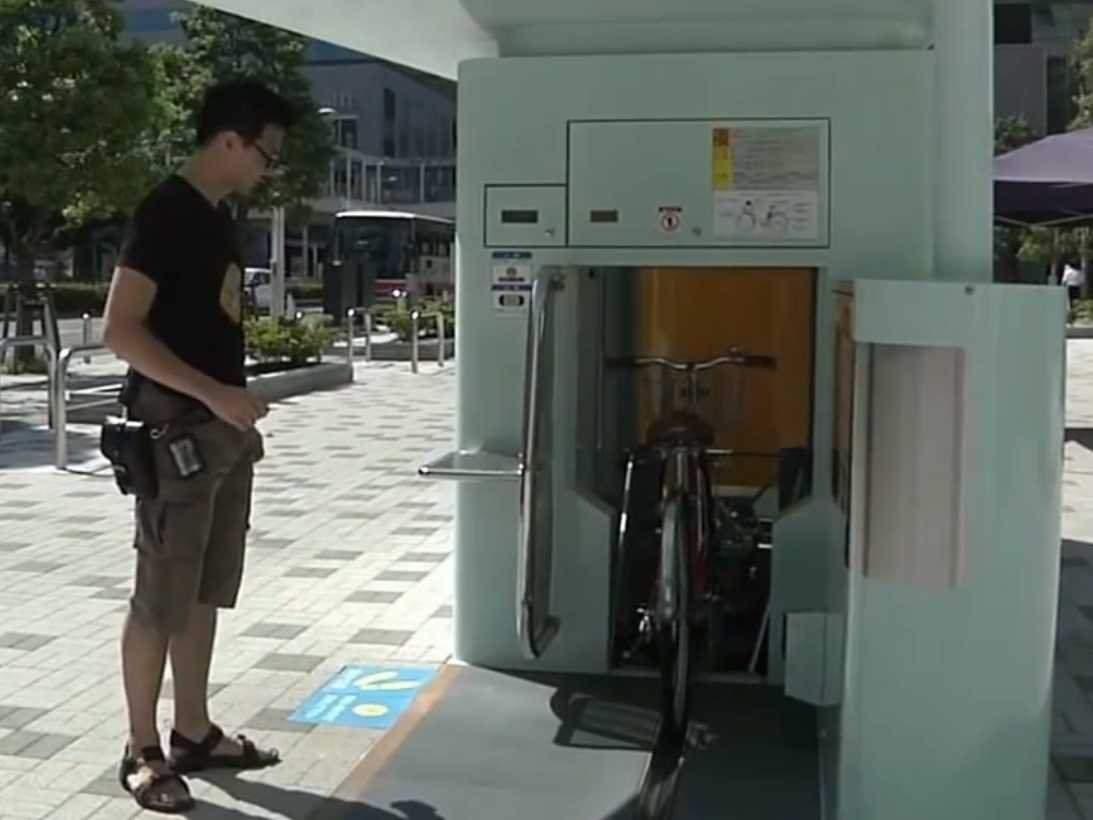 aparcamiento bicis japón