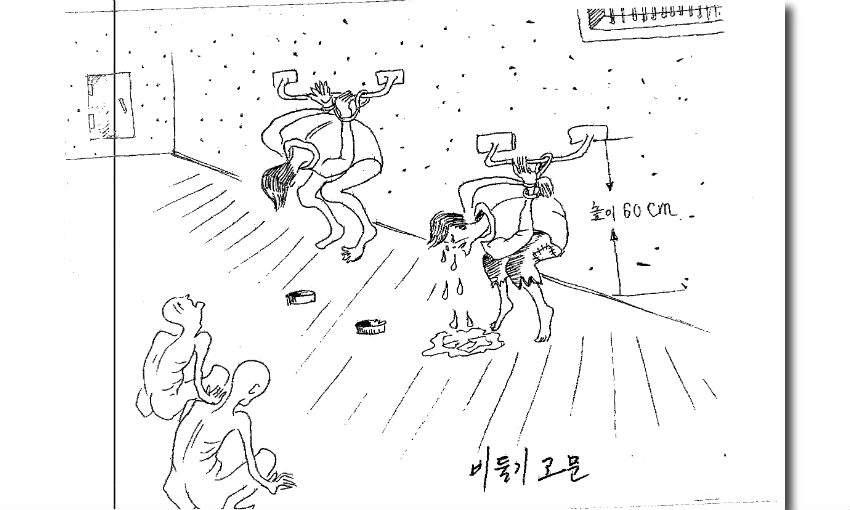 corea del norte dibujo