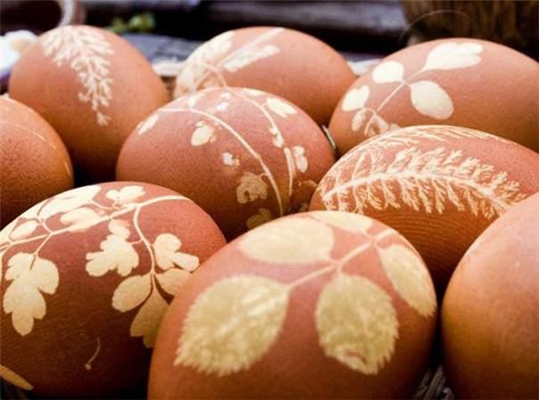 cebolla huevo pascua