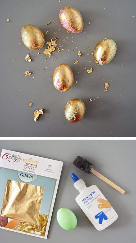 huevo pan de oro pascua