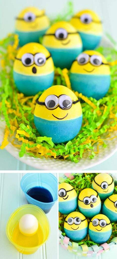 huevo pascua minions