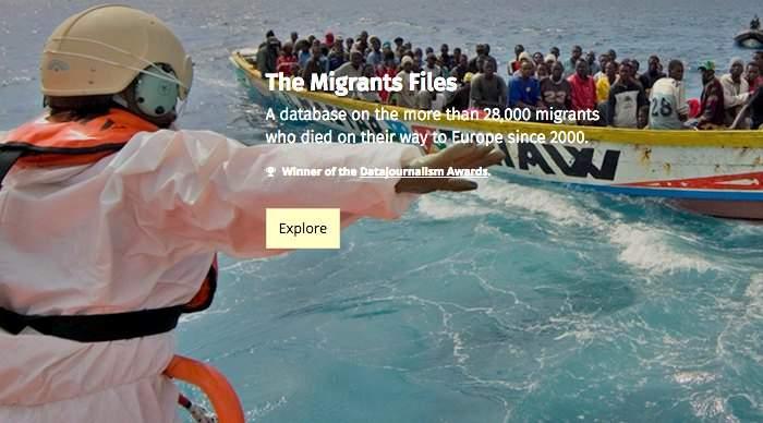 """El proyecto periodístico """"The Migrants Files"""" te muestra la verdad de las muertes en el Mediterraneo 12"""