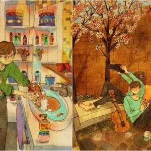 La artista que está revolucionando internet mostrando el Amor de los pequeños gestos 5