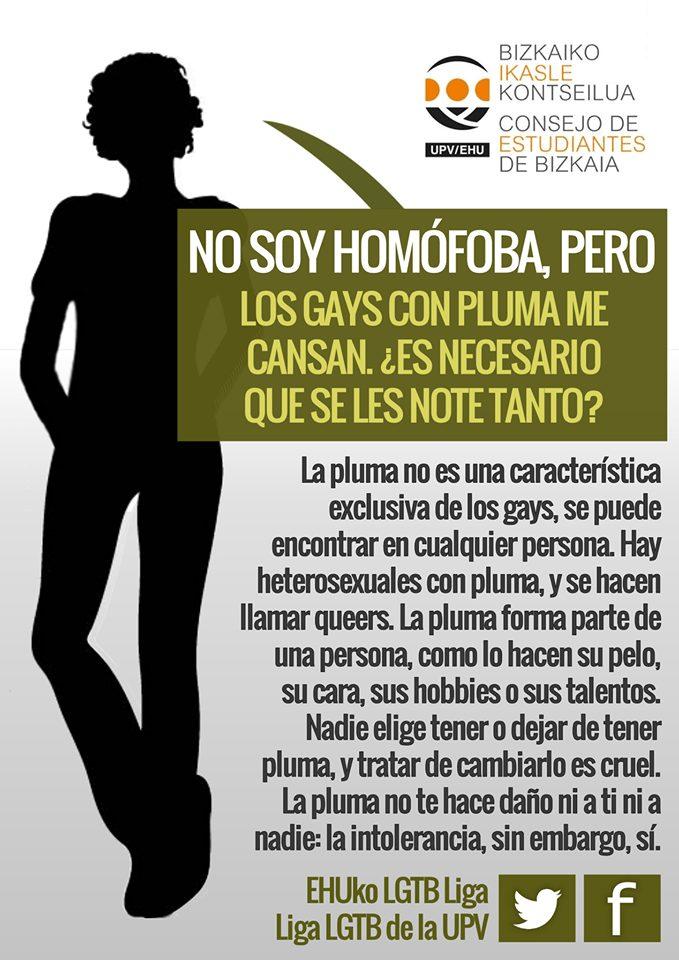 tipologia pluma homofobia