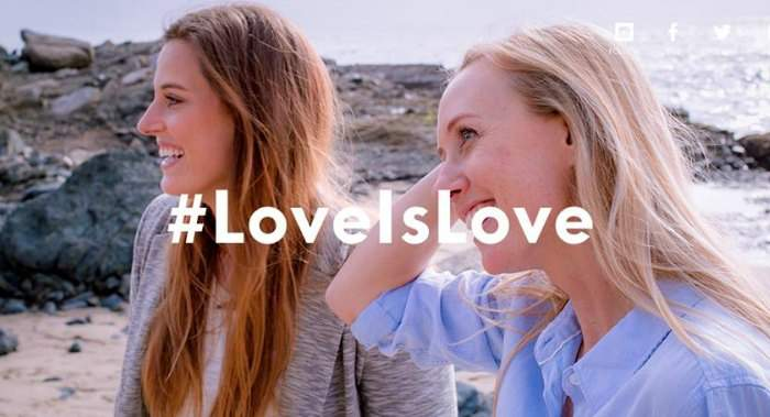 Nueva apuesta por la diversidad del amor en un emotivo vídeo #LoveWins 1
