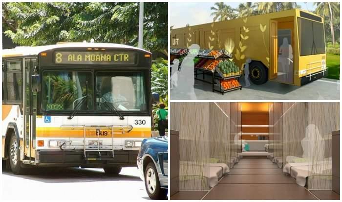 Hawái tuvo una genial idea acerca de cómo darle un nuevo uso a 70 viejos autobuses 9