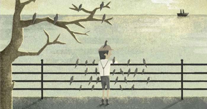 Fantástica meditación ilustrada de la memoria y sus imperfecciones, inspirada por Borges 14