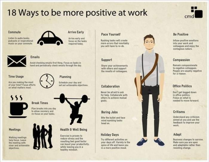 18 sencillos consejos para ser más positivo en el trabajo 2